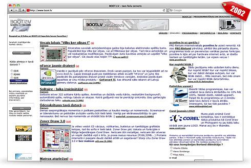 BOOT.Lv 2002. gadā