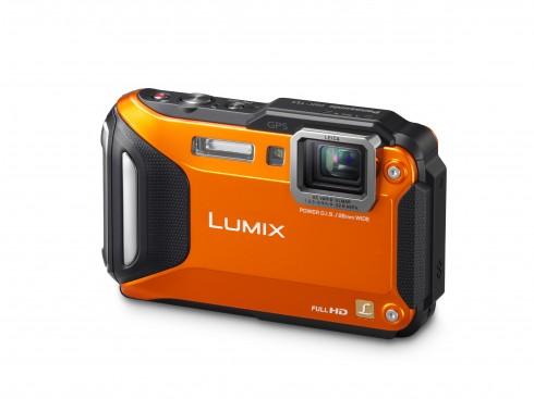 CES 2013 - Photo - LUMIX TS5 Slant