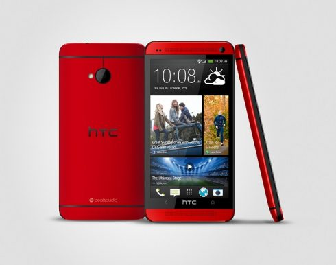 HTC One Red_PublicityPhoto