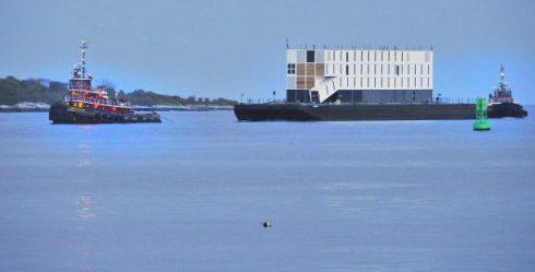google floating data center