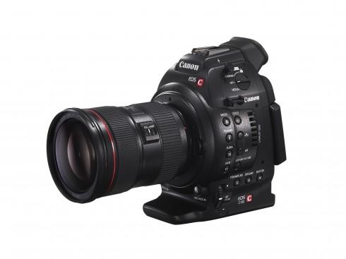 EOS C100 FSL w EF 24-70mm