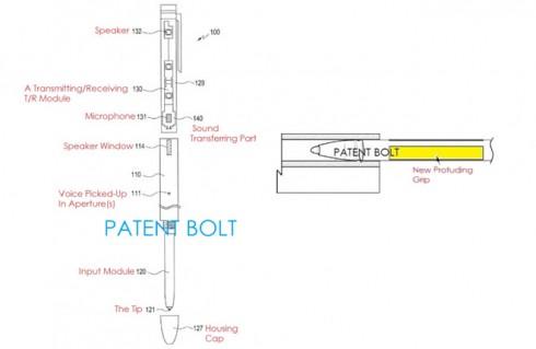 patent s pen samsung