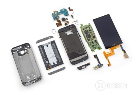 htc one 2014 ifixit