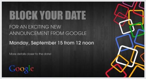 google september conf.