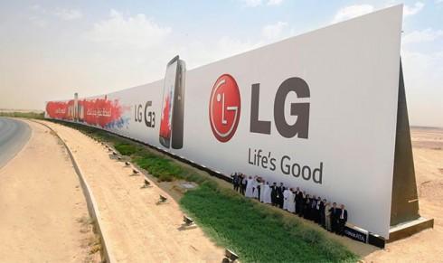 lg huge ad