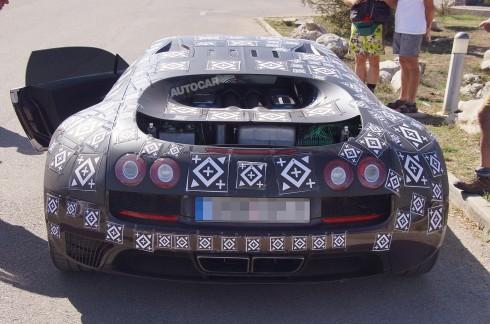 Bugatti Veyron Successor, Chiron Mule. Copyright by Hartmut Klawonn / SB-Medien