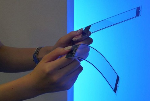 kyocera bendable display2