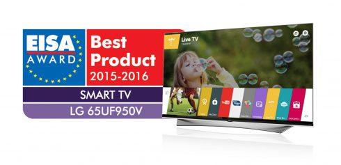 LG PRIME UHD TV 65UF950V_EISA Award