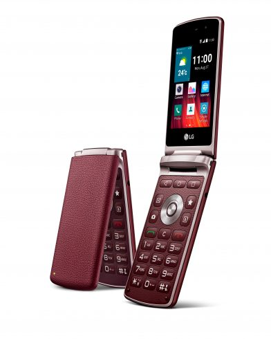LG Wine Smart Burgundy