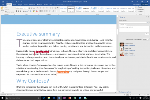 Real-time-co-authoring-in-Word-2016