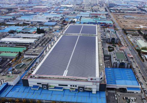 LG Solar Facility in Gumi 01
