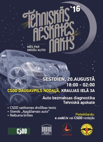 TA nakts Daugavpils