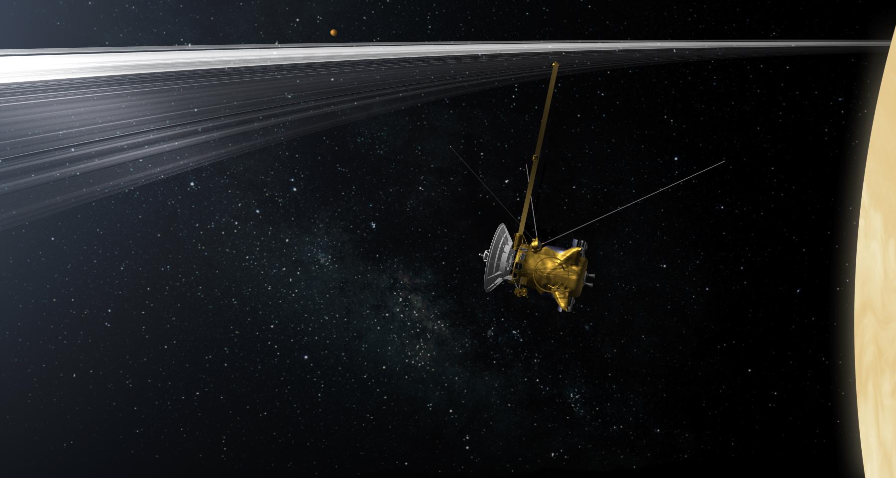 cassini orbiter cool picture - HD1280×782